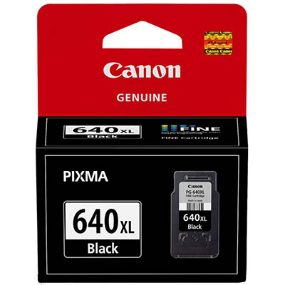 Image for CANON PG640XL INK CARTRIDGE HIGH YIELD BLACK from Dynamic Office National