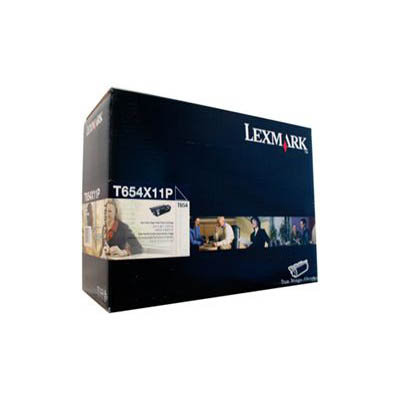 Image for LEXMARK T654X11P TONER CARTRIDGE BLACK from Wetherill Park / Smithfield Office National