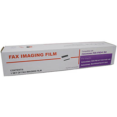Image for WHITEBOX COMPATIBLE PANASONIC KXFA54E FAX FILM from Surry Office National