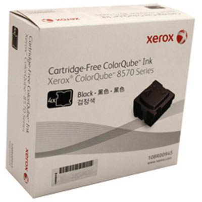 Image for FUJI XEROX 108R00945 COLORQUBE COLORSTIX BLACK PACK 4 from Surry Office National