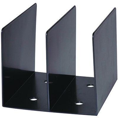 Image for ESSELTE MOULDED SWS BOOK RACK BLACK from Office National Sydney Stationery