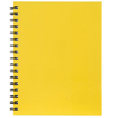 Image for SPIRAX 512 NOTEBOOK 7MM RULED HARD COVER SPIRAL BOUND A4 200 PAGE YELLOW from Paul John Office National