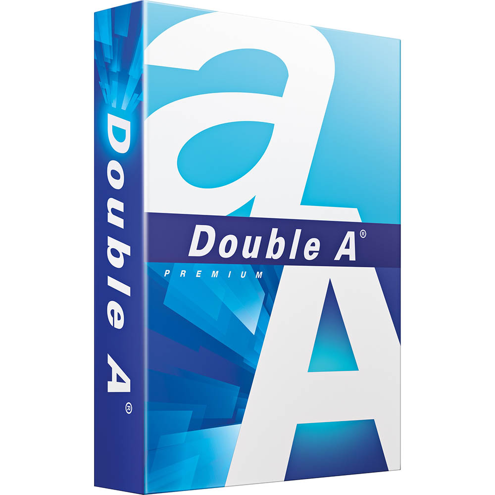 Image for DOUBLE A SMOOTHER A5 COPY PAPER 80GSM WHITE PACK 500 SHEETS from Aztec Office National Melbourne