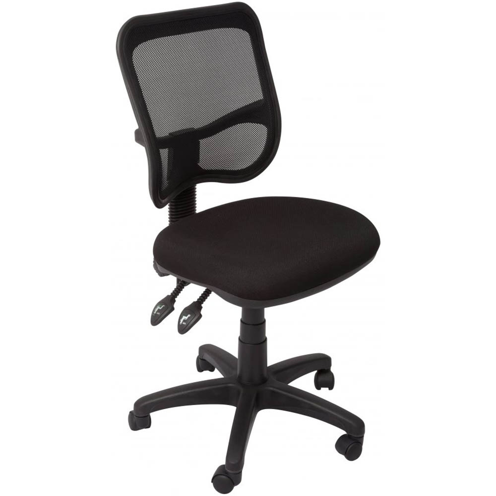 Image for INITIATIVE OPERATOR CHAIR MESH BACK BLACK from Page 5 Office National