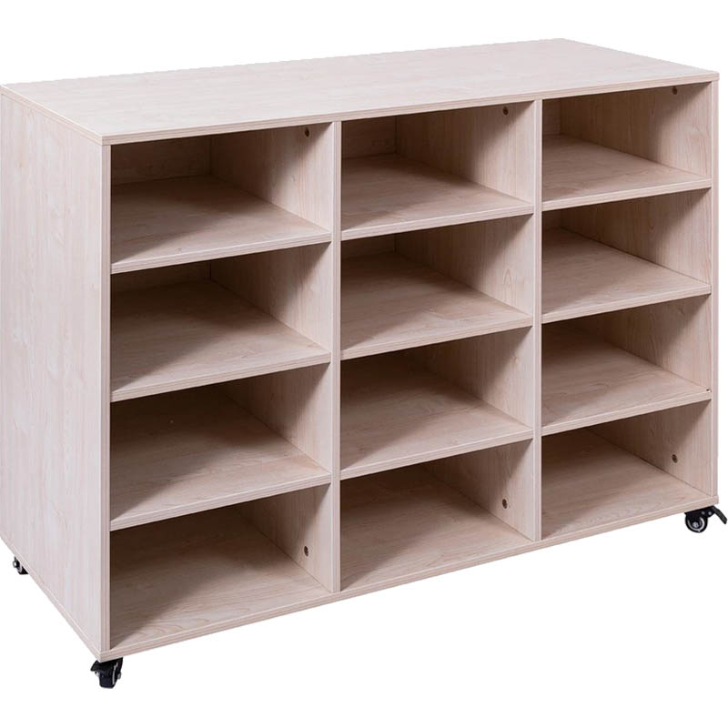 Image for ELIZABETH RICHARDS MOBILE STORAGE UNIT 12 BAY 1180 X 450 X 860MM from Axsel Office National