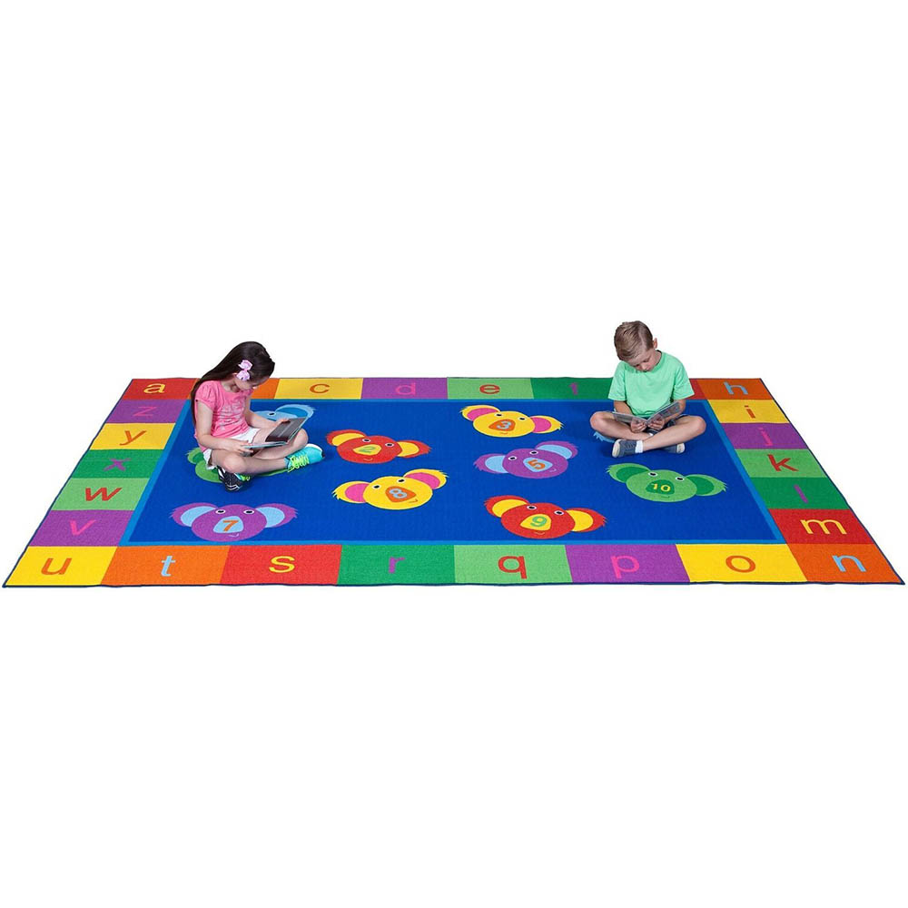 Image for ELIZABETH RICHARDS 123 ABC KOALA FUN RUG 3300 X 2000MM from Our Town & Country Office National