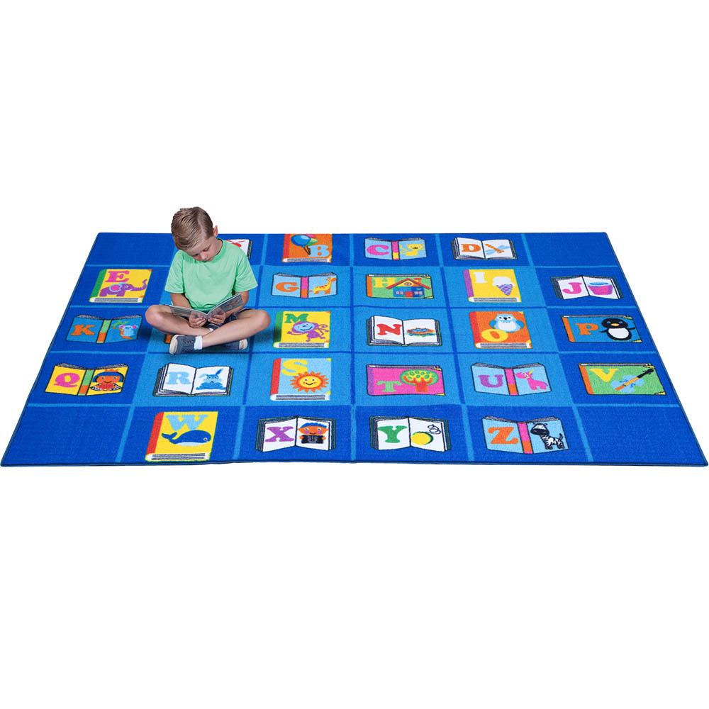 Image for ELIZABETH RICHARDS MY FAVOURITE BOOK RUG 4 X 3M BLUE from Our Town & Country Office National