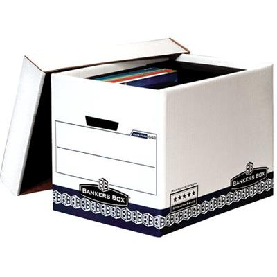 Image for FELLOWES 648 MAXIMUM STRENGTH BANKERS ARCHIVE BOX 336 X 328 X 423MM from Office National Perth CBD