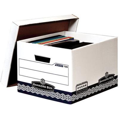 Image for FELLOWES 729 MAXIMUM STRENGTH BANKERS ARCHIVE BOX 266 X 335 X 383MM from Office National Perth CBD