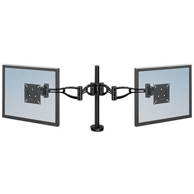 Image for FELLOWES MONITOR DUAL ARM ADJUSTABLE from Chris Humphrey Office National