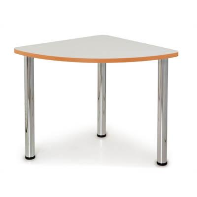 Image for QUORUM GEOMETRY MEETING TABLE QUARTER ROUND 750MM from Wetherill Park / Smithfield Office National