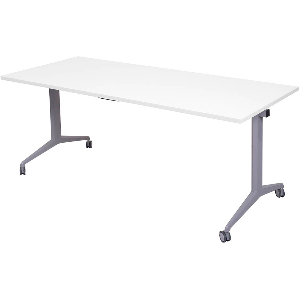 Image for RAPIDLINE FLIP TOP TABLE 1500 X 750MM WHITE from Mackay Business Machines (MBM)