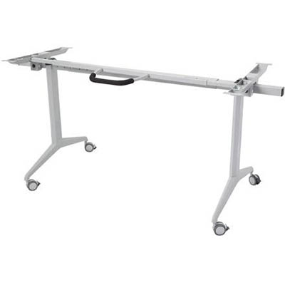 Image for RAPIDLINE FLIP TOP TABLE BASE MECHANISM ONLY PRECIOUS SILVER from The Paper Bahn Office National