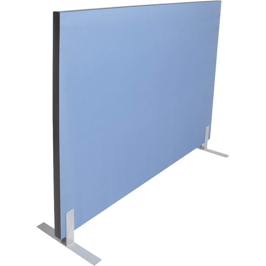 Image for RAPIDLINE ACOUSTIC SCREEN 1800 X 1500MM BLUE from Wetherill Park / Smithfield Office National