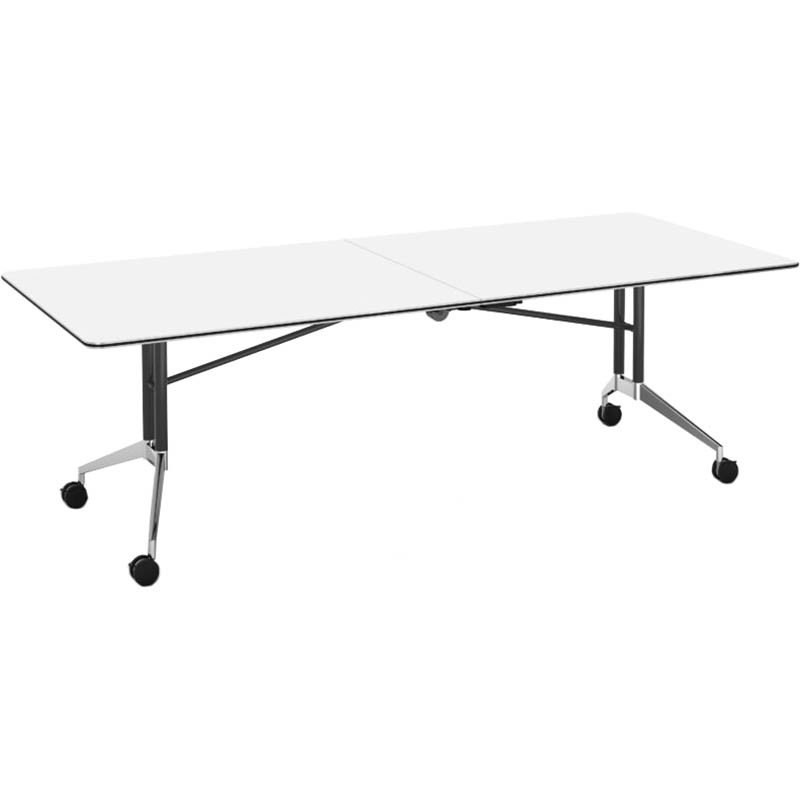 Image for RAPID EDGE FOLDING TABLE 2400 X 1000 X 743MM NATURAL WHITE from Our Town & Country Office National