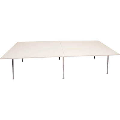 Image for RAPIDLINE RAPID AIR BOARDROOM TABLE 3200 X 1200 X 750MM WHITE from Wetherill Park / Smithfield Office National