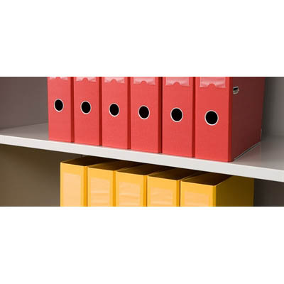 Image for GO PLAIN SHELF FOR 1200MM TAMBOUR DOOR CUPBOARD WHITE CHINA from Pirie Office National