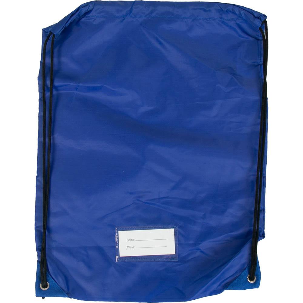 Image for EDUCATIONAL COLOURS GYM BAG BLUE from Office National Kalgoorlie