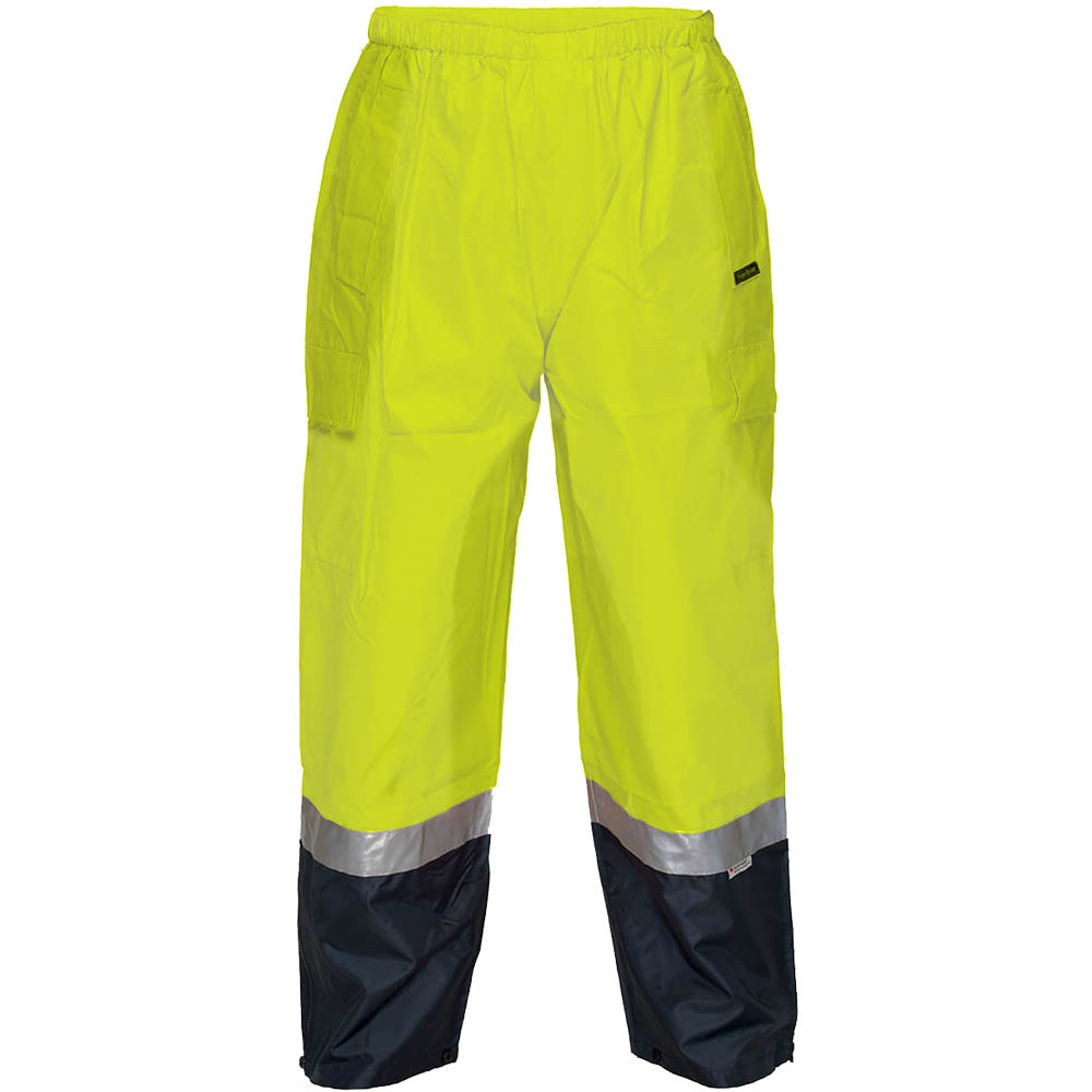 Image for PRIME MOVER HV200 HI VIS WET WEATHER CARGO PANT 3M TAPE from Office National Port Augusta