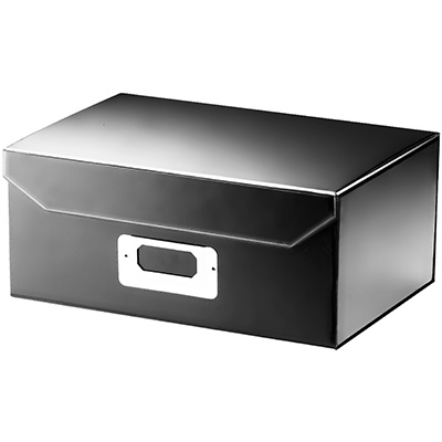 Image for ITALPLAST EAZIFOLD DOCUMENT BOX A5 BLACK from Office National Perth CBD