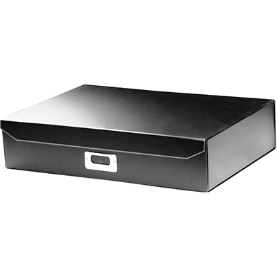 Image for ITALPLAST EAZIFOLD DOCUMENT BOX A3 BLACK from Office National Perth CBD