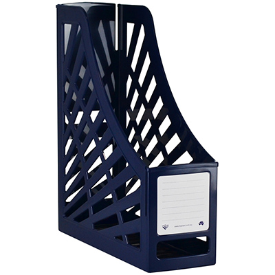 Image for ITALPLAST MAGAZINE STAND ANTIQUE BLUE from Axsel Office National