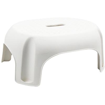 Image for ITALPLAST PLASTIC SINGLE STEP STOOL 296 X 387 X 210MM WHITE from Pirie Office National