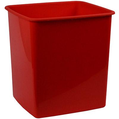 Image for ITALPLAST TIDY BIN 15 LITRE RED from Paul John Office National