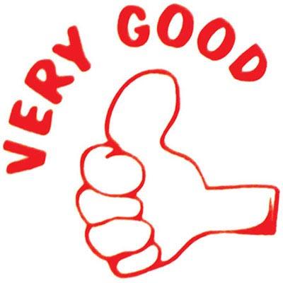 Image for DESKMATE MERIT STAMP VERY GOOD RED from Office National Kalgoorlie