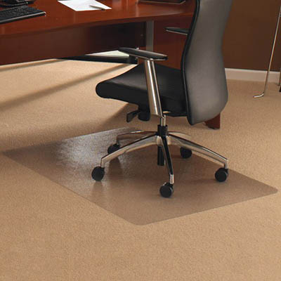 Image for FLOORTEX CHAIRMAT POLYCARBONATE HARDFLOOR RECTANGULAR 1200 X 900MM from Wetherill Park / Smithfield Office National