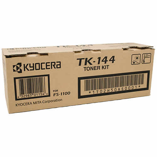 Image for KYOCERA TK144 TONER CARTRIDGE BLACK from Pirie Office National