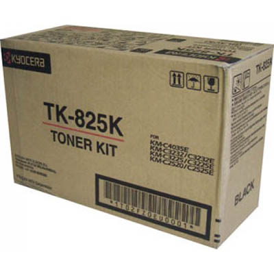 Image for KYOCERA TK825K TONER CARTRIDGE BLACK from Surry Office National