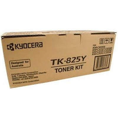 Image for KYOCERA TK825Y TONER CARTRIDGE YELLOW from Surry Office National