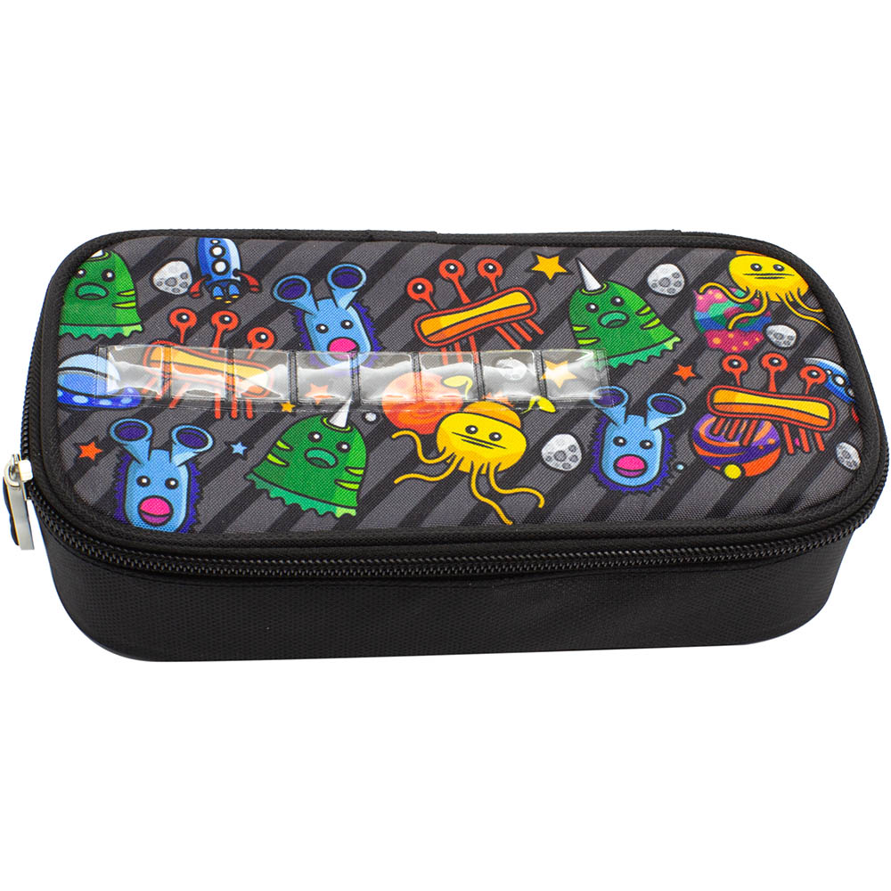 Image for GLITTER CRITTERS NAMEME PENCIL CASE SPACE from Paul John Office National