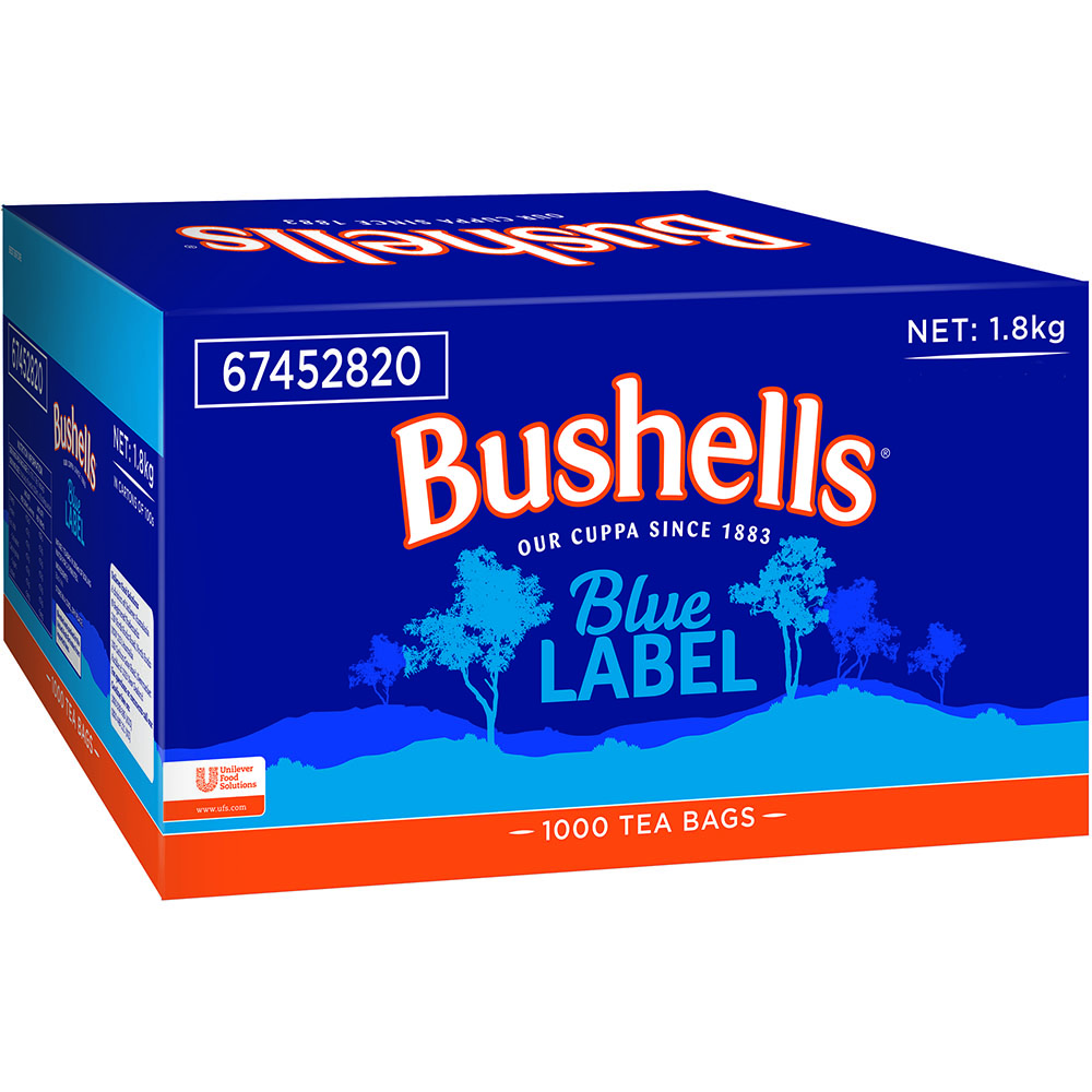 Image for BUSHELLS TEA CUP BAGS RAINFOREST BOX 1000 from Our Town & Country Office National