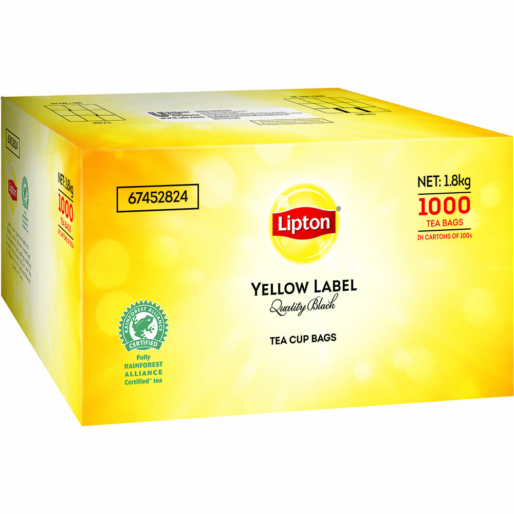 Image for LIPTON TEA BAGS WITH TAG AND STRING BOX 1000 from Holiday Coast Office