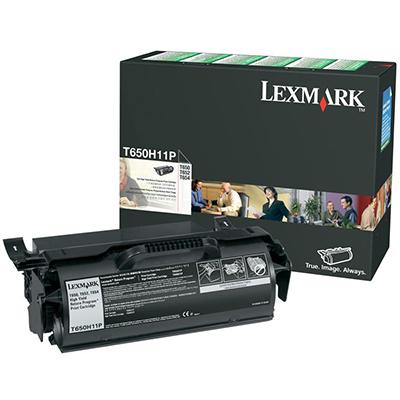Image for LEXMARK T650H11P PREBATE TONER CARTRIDGE BLACK from Wetherill Park / Smithfield Office National