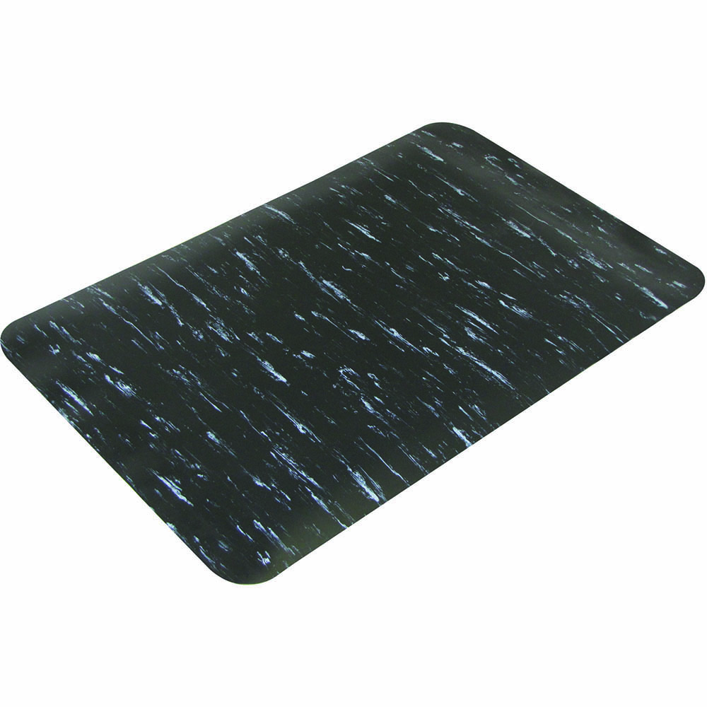 Image for MATTEK MARBLE FOOT ANTI-FATIGUE MAT BLACK 600 X 900MM from Pirie Office National