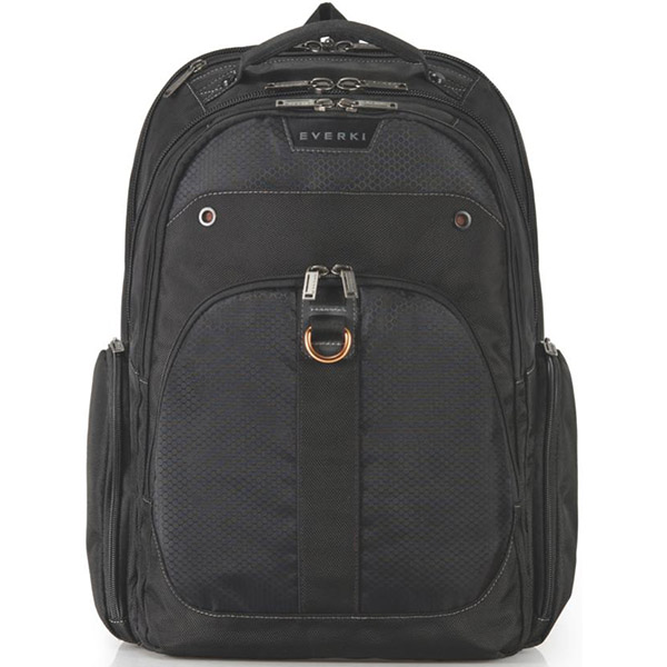 Image for EVERKI ATLAS CHECKPOINT FRIENDLY LAPTOP BACKPACK 17.3 INCH BLACK from Office National Perth CBD