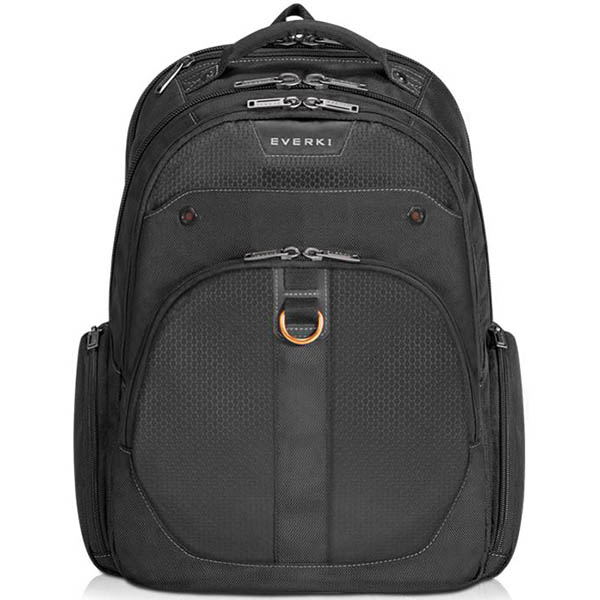 Image for EVERKI ATLAS CHECKPOINT FRIENDLY LAPTOP BACKPACK 15.6 INCH BLACK from Mackay Business Machines (MBM)