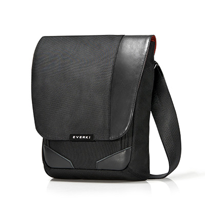Image for EVERKI VENUE RFID MINI MESSENGER BAG BLACK from Office National Whyalla