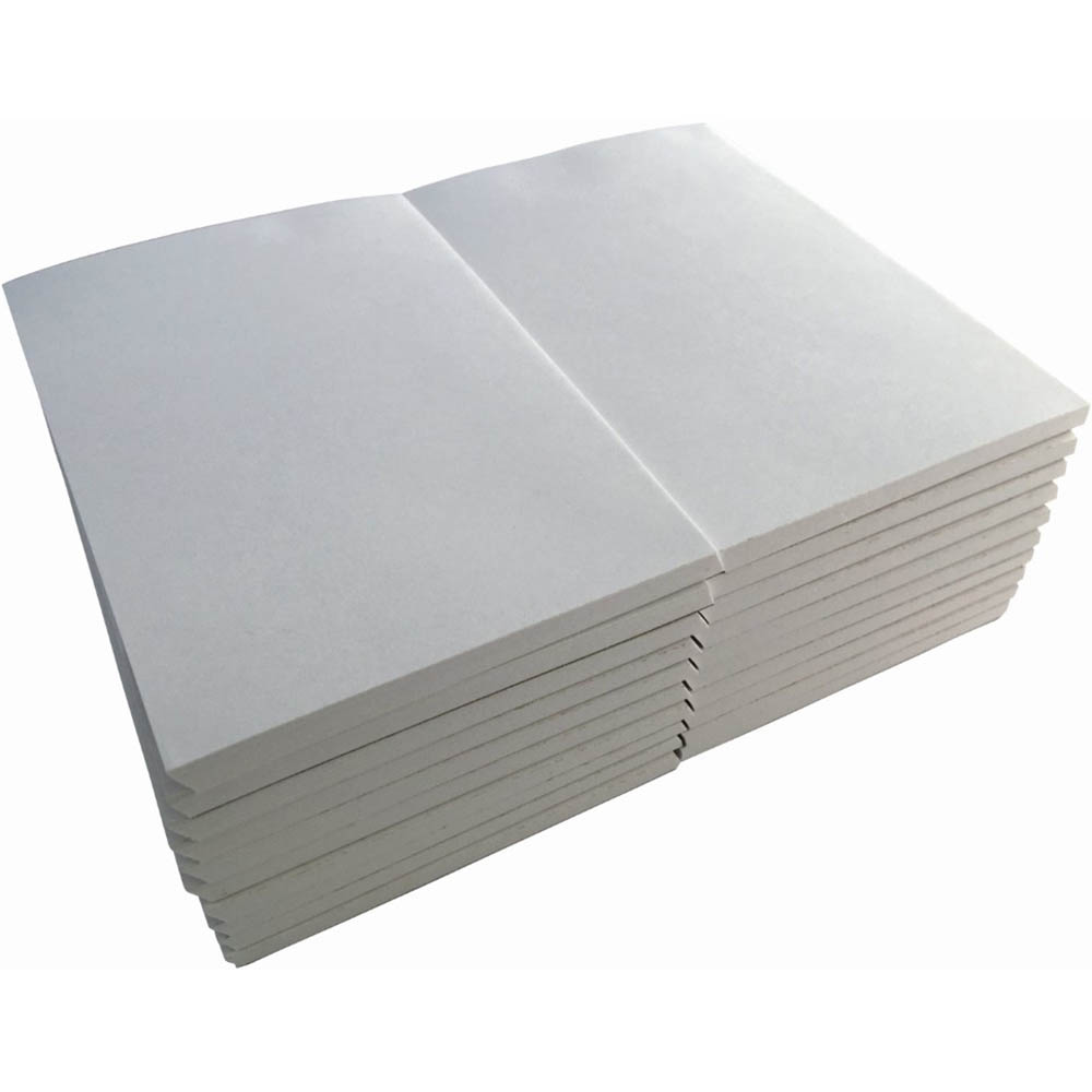 Image for WRITER BANK PAD PLAIN 50GSM 100 SHEETS 150 X 100MM WHITE from Axsel Office National
