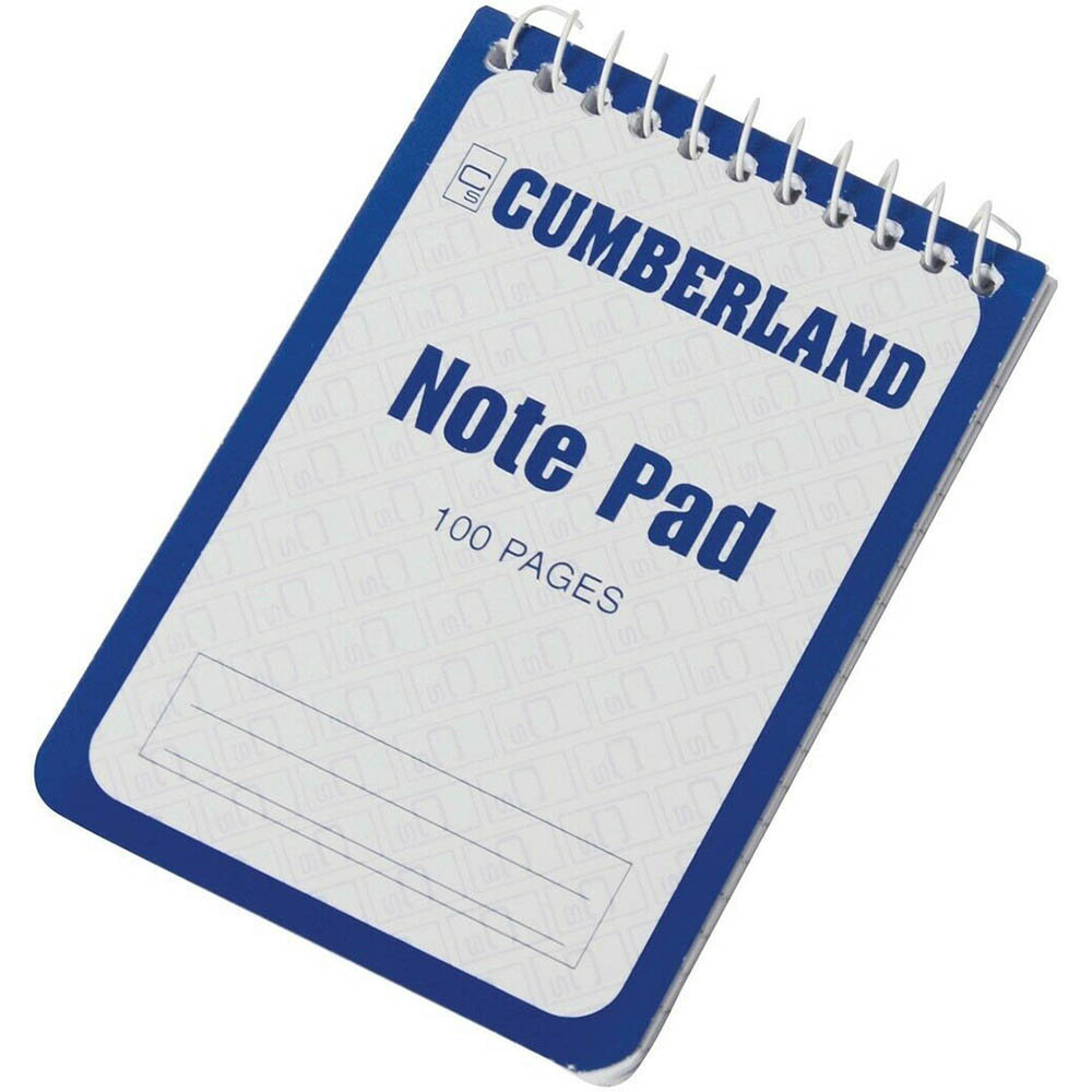 Image for CUMBERLAND PERFECTBOUND NOTEBOOK REFILL 100 LEAF 110 X 65MM from Office National Perth CBD
