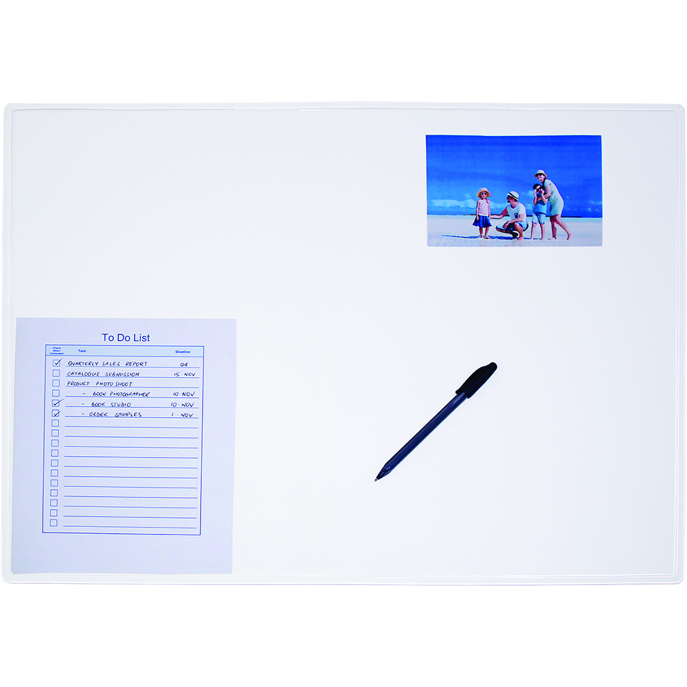 Image for CUMBERLAND DESK MAT 487 X 652MM TRANSPARENT from Office National Perth CBD