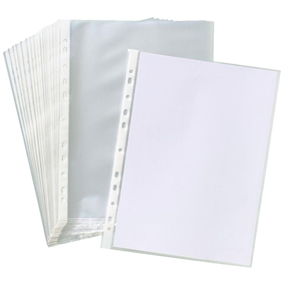 Image for OFFICE NATIONAL BUSINESS SHEET PROTECTORS A4 BOX 100 from Office National Perth CBD