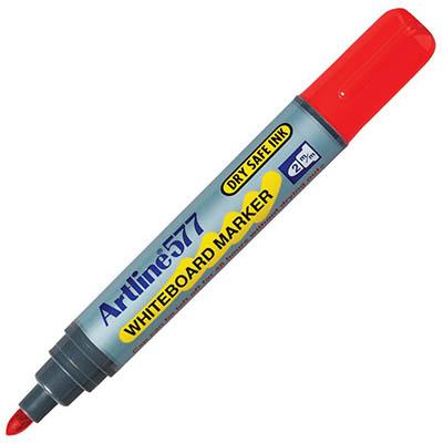 Image for ARTLINE 577 WHITEBOARD MARKER BULLET 3MM RED from Office National Sydney Stationery
