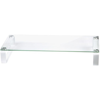 Image for ESSELTE GLASS MONITOR STAND WHITE from Paul John Office National