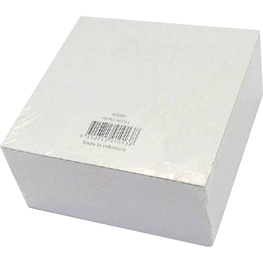 Image for SWS PLASTIC MEMO CUBE PAPER BLANK REFILLS PACK 500 from Axsel Office National