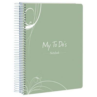 Image for SPIRAX P307A MY RANGE PP NOTEBOOK 'MY TO DO' 100 PAGE A5 ASSORTED from Mackay Business Machines (MBM)