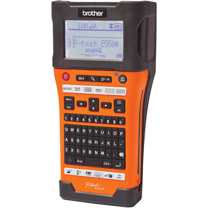 Image for BROTHER PT-E550WVP P-TOUCH INDUSTRIAL LABEL MACHINE from Our Town & Country Office National